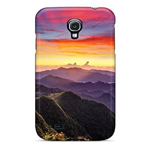 Sunset Valley Flip Case With Fashion Design For Case Iphone 4/4S Cover