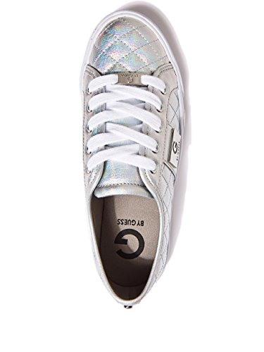 GUESS Metallic G by G Hologram Womens Womens by Sneakers GUESS Byrone q1xX8R