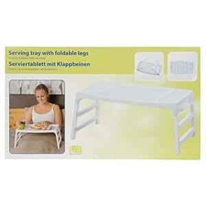 Portátil plástico stand up plegable patas taza soporte práctico bandeja para servir
