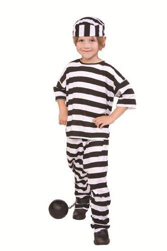 RG Costumes Convict Boy, Child Small/Size 4-6 -