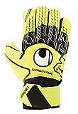 uhlsport Soft Supportframe Junior Goalkeeper Gloves Size 4.5 Fluo Yellow/Black