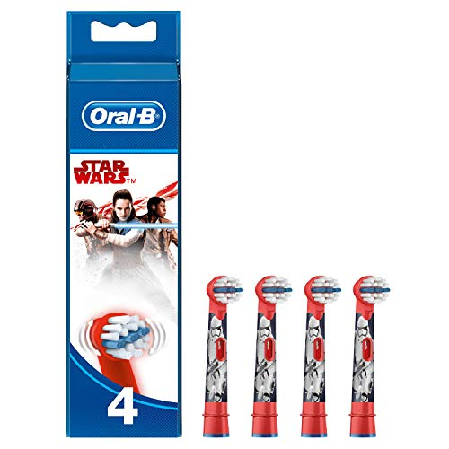 Kids By Oral-b Stages Power Star Wars Replacement Heads 4 Pack ()