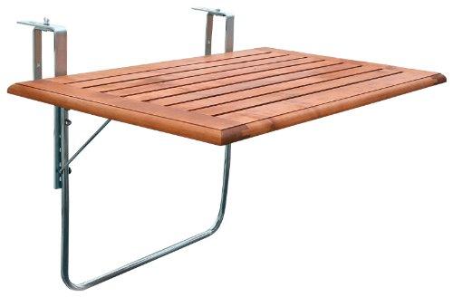 Amazon De Videx 16501 Balkonklapptisch Holzplatte 50 X 100cm