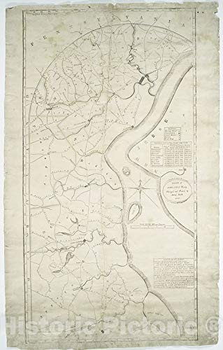 - Historic 1820 Map | Roads of Newcastle County | New Castle County (Del.) - Maps | Delaware | New Castle County | Charts and maps | Vintage Wall Art | 36in x 57in