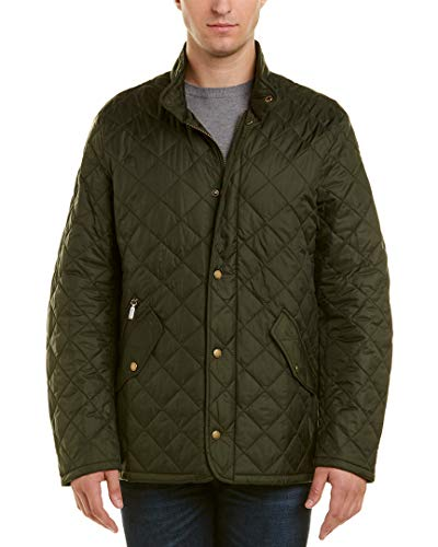 Barbour Mens Flyweight Chelsea Jacket, XL, Green