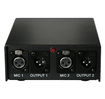 Audix Aps2 2-channel 48v Phantom Power Supply 1