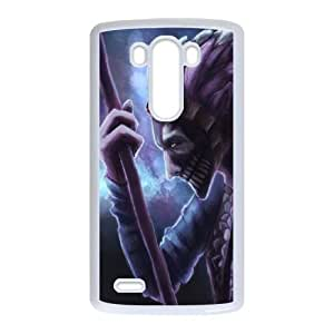 Dazzle LG Caso G3 teléfono celular funda blanca del teléfono celular Funda Cubierta EEECBCAAB02080