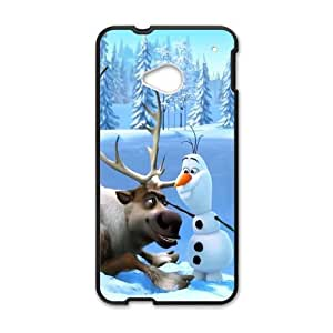 Happy Frozen Sven and Olaf Cell Phone Case for HTC One M7