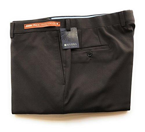 "Riviera Traveler brown costume pants ""flex expertise"" flat entrance (Dimension: 38)"