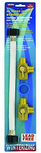 [Valterra P23504LFVP Water Heater By-Pass Kit] (Permanent Bypass Kit)