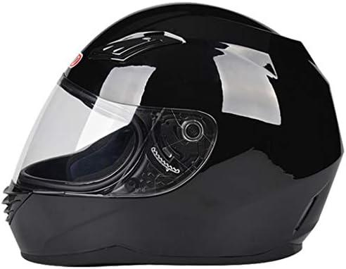 NJ ヘルメット- オートバイ電気自動車のヘルメットの男性と女性四季の透明な防曇ヘルメット (色 : Sub black, サイズ さいず : 34x25x24cm)