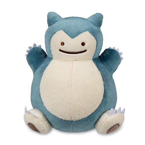 Pokemon Center Original Plush Doll Ditto Snorlax