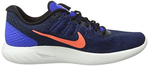 Nike Mens Lunarglide 8 Running Shoes Hyper Cobalt/Loyal Blue/Bright Mango/Black 8xnQm9ErTY