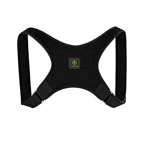 THEONEAB Posture Corrector for Women & Men | Comfortable Upper Back Brace | Posture Support | Kyphosis Brace | Posture Brace | Adjustable Posture  Correct Brace (L) (Best Upper Back Support Brace)