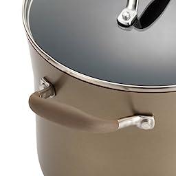 Anolon Advanced Bronze Hard Anodized Nonstick 3.5-Quart Covered Chef\'s Casserole