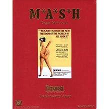 MASH ORIGINAL MOVIE SCRIPT