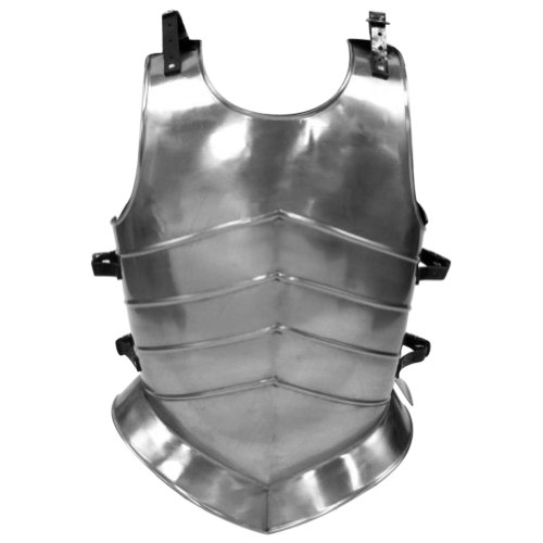 Armor Venue Gothic Medieval Breastplate (Ridged) - Metallic - One Size