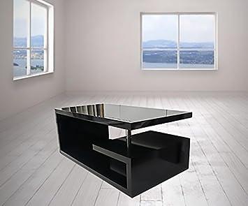 Designer-Couchtisch, viereckig, weiß, schwarz, grau ...