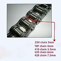 FJJ-LIANTIAO, 25H T8F 410 420 428 Cadena