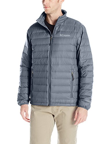 Columbia Men's Voodoo Falls 590 TurboDown Jacket, Graphite XL