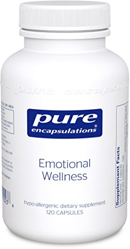 - Pure Encapsulations - Emotional Wellness - Supports Mental Well-Being and Helps Moderate Occasional Stress* - 120 Capsules