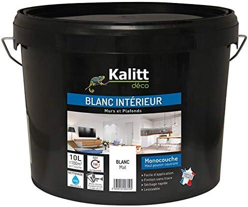 Kalitt Deco Des Zin 000 10l Peintures Murs Et Plafonds