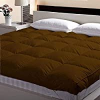 Microfibre Mattress Padding/Topper for King Size Double Bed 5 Star Hotel Feel