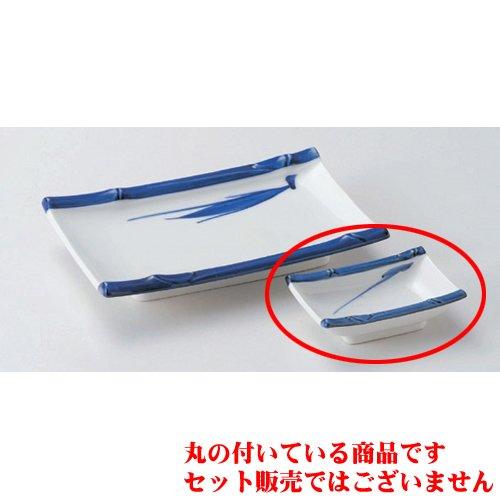 Grilled Fish Plate utw160-30-714 [3.4 x 2.3 x 1 inch] Japanece ceramic Takefuchi bamboo angle Chiyo Hisashi tableware