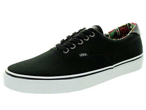 Vans U Era 59 - Zapatillas Unisex adulto Negro / Blanco