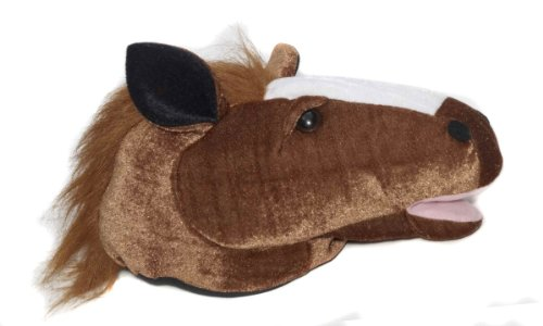 Forum Novelties Plush Animal Brown Horse Costume (Farm Animal Costumes Adults)