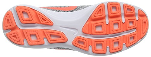 NIKE Women's Revolution 3 Running Shoe, Wolf Grey/Hyper Orange/Cool Grey, 9.5  B(M) US