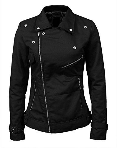 Cotton Riverdale Hi Blossom Leather Women's Soft Quality amp; Genuine Cheryl Southside 100 Faux Jacket Serpents Black pIqTwZ