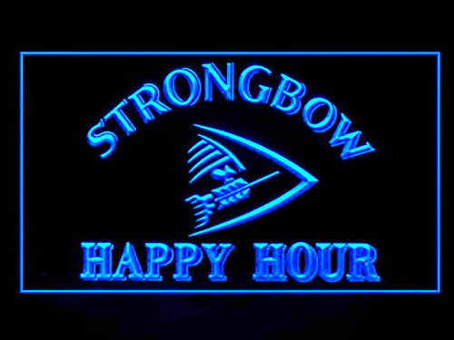 Strongbow Cider Happy Hour Drink Led Light Sign