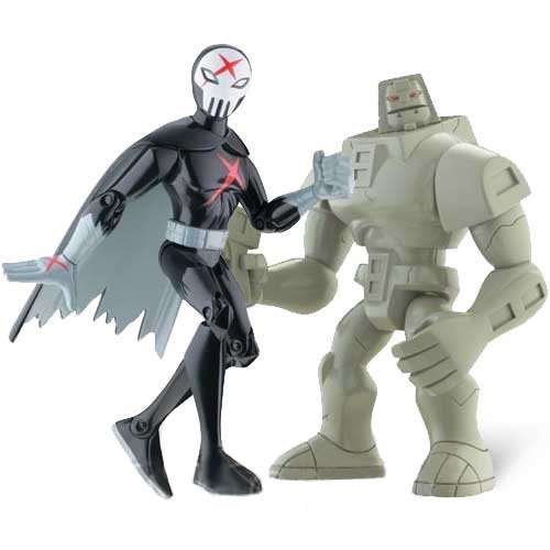 teen-titans-35-action-figure-2pack-cinderblock-red-x-by-teen-titans