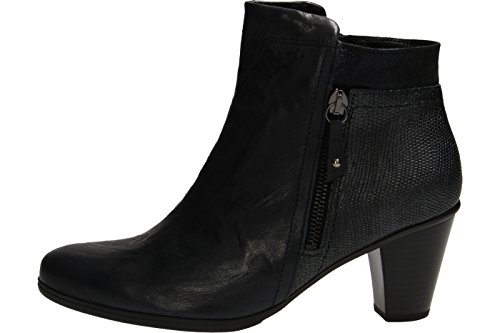 Monitor 55 Ankle Heeled Navy Boot Gabor 610 4An0zA