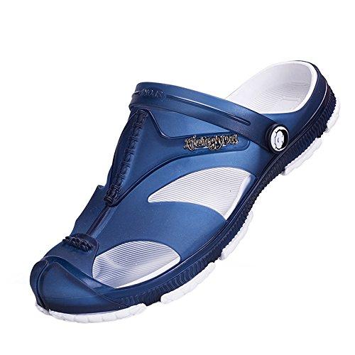 ベーコン同様の煙突(クイブー)KUIBU メンズファッション シンプルデザイン リゾート感満点 通気軽量 アウトドア 柔らか 疲れにくい 滑りとめ 水陸両用 サンダル 爽やかな靴 夏の靴 スリッポン ローヒール フラットサンダル ビーチサンダル
