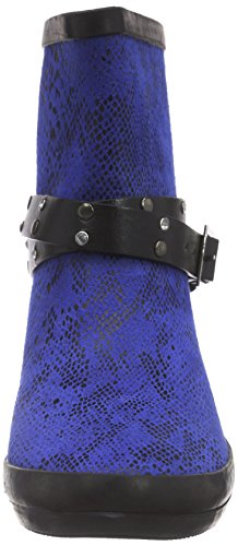 Wolpertinger Damen Perth Gummistiefel Blau (Blue)