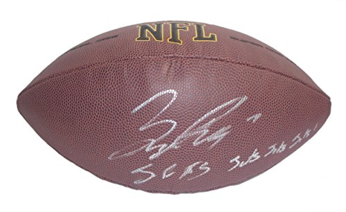 New York Jets Bryce Petty Autographed Hand Signed NFL Wilson Football with Jets Inscription and Proof Photo of Signing and COA