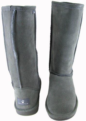BEARPAW Damen Emma Tall Fashion Boot Grau