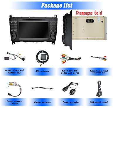 Ohok Android 8 0 Car Stereo for Mercedes-Benz C-Class