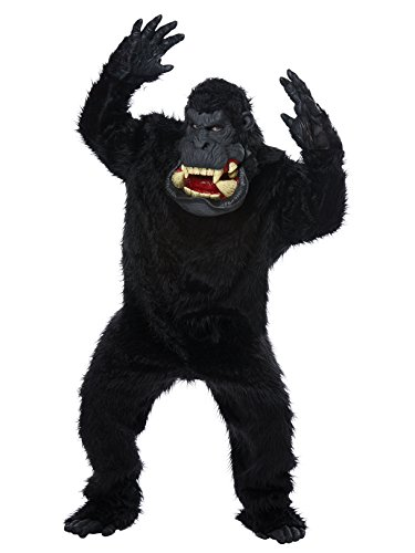 California Costumes Men's Goin' Bananas-Adult Costume, Black One Size ()