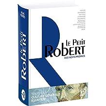 PETIT ROBERT DES NOMS PROPRES 2017