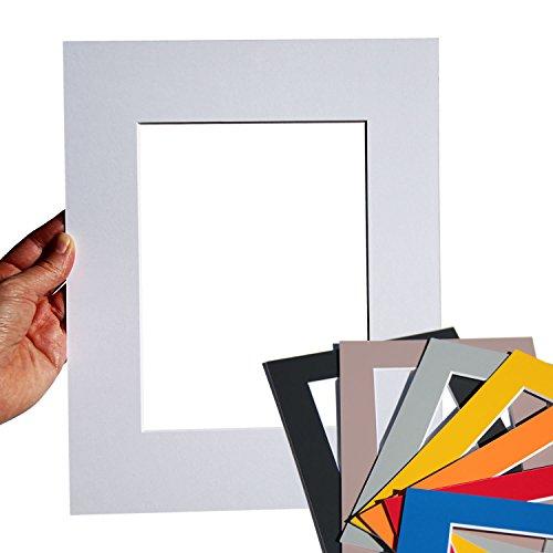 Premium Passepartouts - 33 Farben in allen Standard-Größen (AM: 30x40 / IA: 20x30)