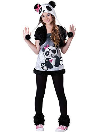 InCharacter Costumes Tween  Pandamonium Costume, Black/White, -