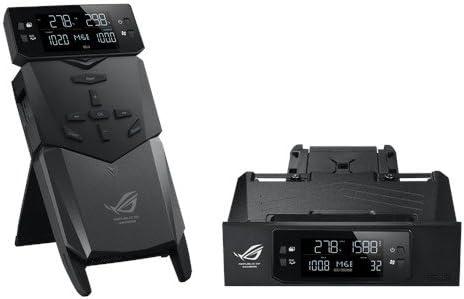 Asus OC Panel - Monitorización de refrigeración para Caja de Ordenador, Negro: Amazon.es: Informática