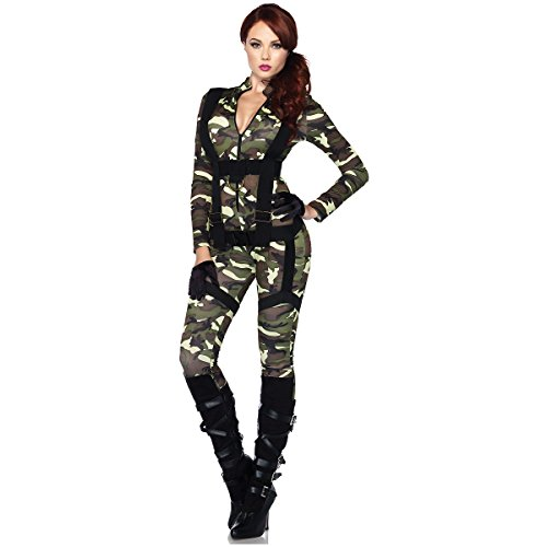 [Pretty Paratrooper Costume - X-Large - Dress Size 14-16] (Adult Pretty Paratrooper Costumes)