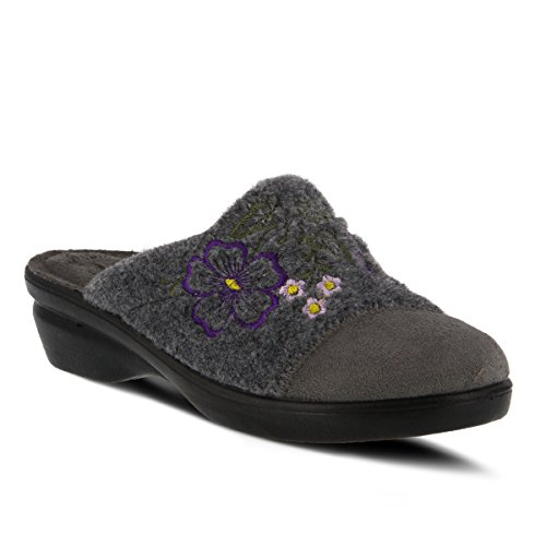 Grey Slipper Women's Step Spring Flexus By Woolie qzYW1xp