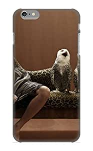 Dionnecortez Iszmsf-3252-exsrxya Protective Case For Iphone 6 Plus(animal Snowy Owl Woman Model) - Nice Gift For Lovers