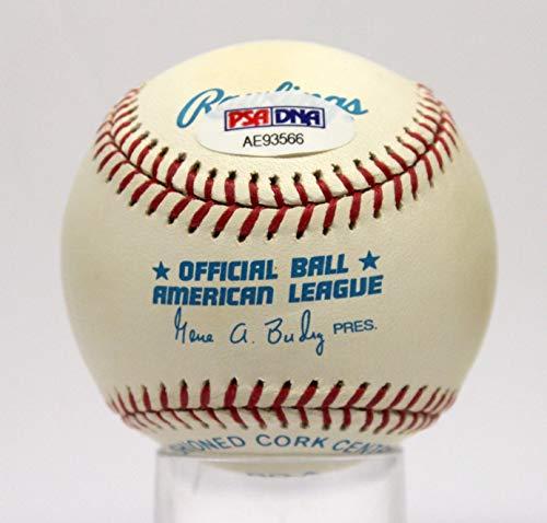 ANDY PETTITTE YANKEES SIGNED AUTOGRAPHED OAL BASEBALL BALL PSA/DNA #AE93566 (Ball Baseball Oal)