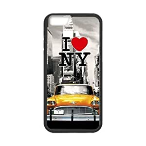 New York City Design Solid Rubber Customized Cover Case for iPhone 4 4s 4s-linda88